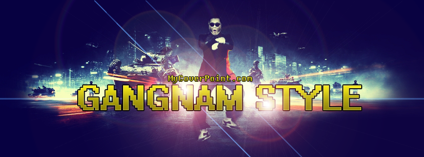 Gangnam Style Facebook Cover Photo
