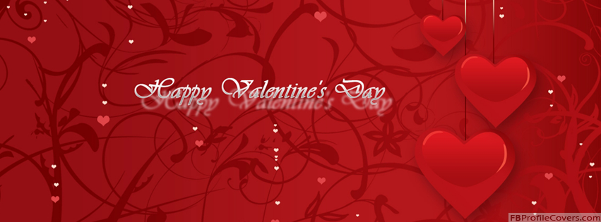 Happy Valentine's Day Facebook Cover