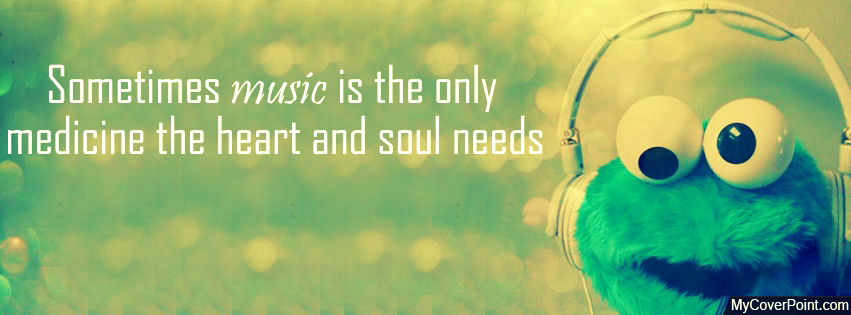 Music Is Medicine Facebook Cover