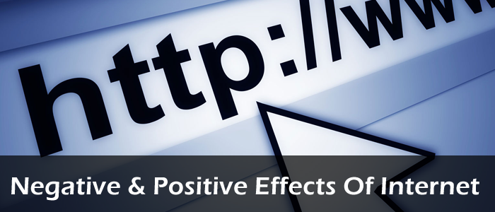 the positive effects of the internet