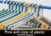 Pros and cons of plastic