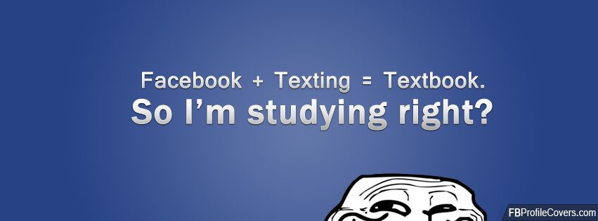 Textbook Facebook Timeline Cover