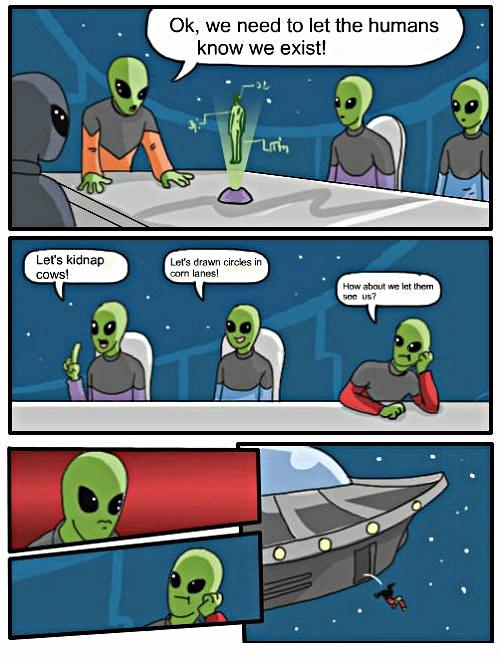 aliens boardroom suggestion meme