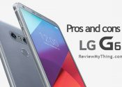 lg g6 pros and cons