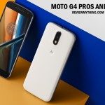 Moto G4 pros and cons