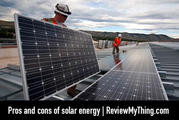 pros cons solar power